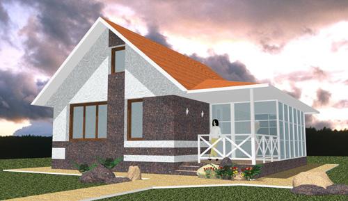 Дёшево построить дом своими руками фото